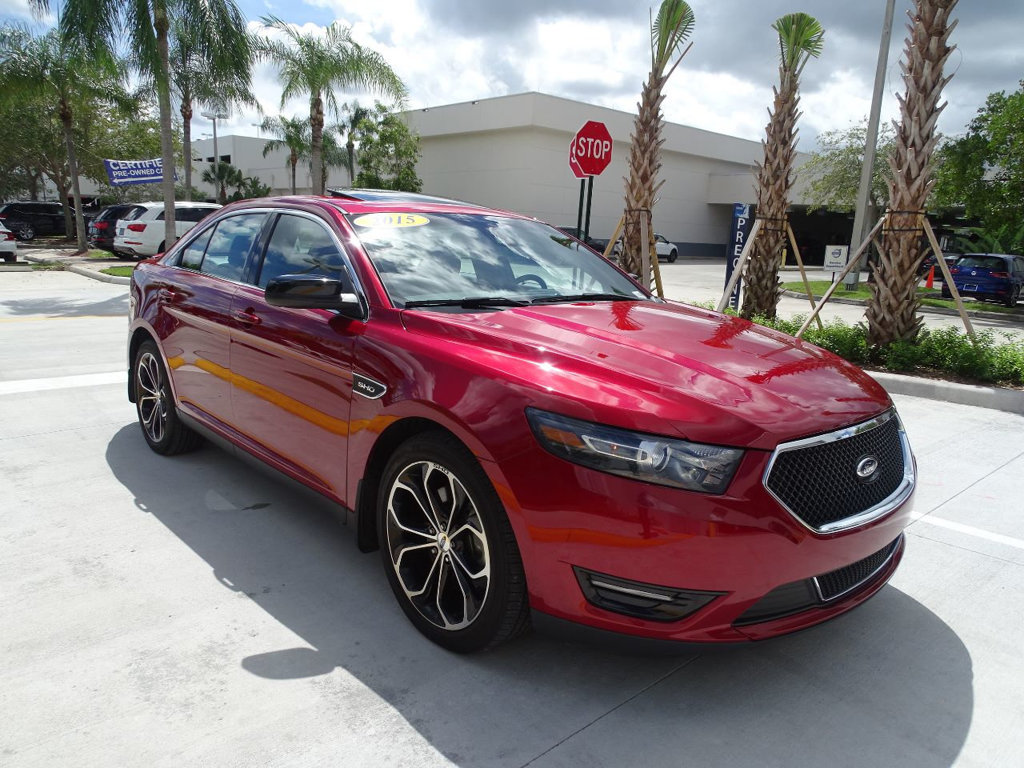 Pre-Owned 2015 Ford Taurus SHO with Performance Pkg. AWD