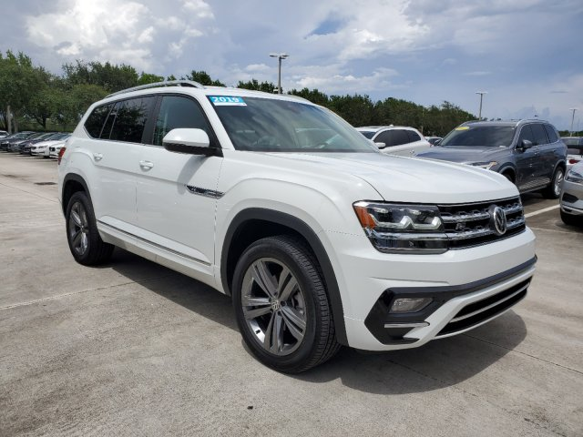 Certified Pre-Owned 2019 Volkswagen Atlas 3.6L V6 SE R-Line/4Motion w/Technology