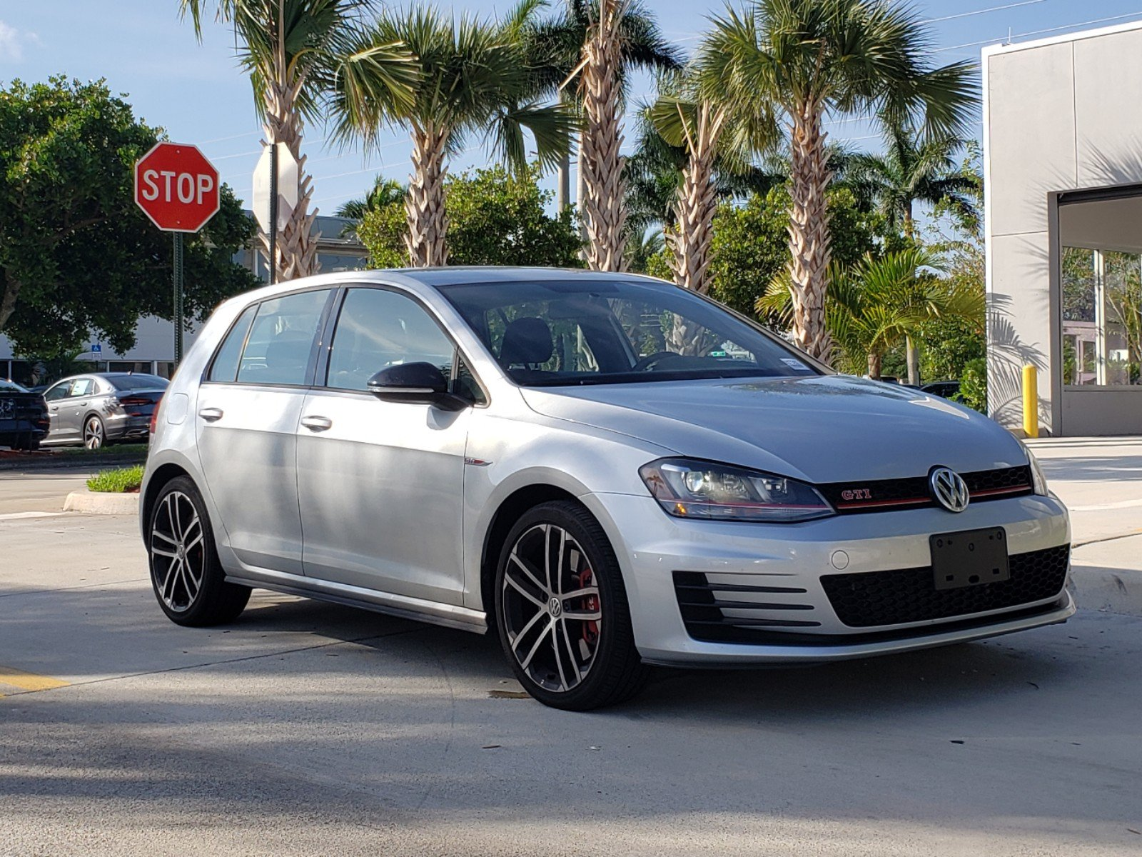 Certified Pre-Owned 2017 Volkswagen GTI Sport with DSG Automatic