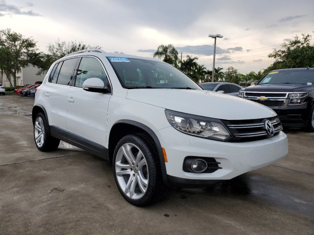Certified Pre-Owned 2016 VW Tiguan SEL with Navigation & Panoramic Sunroof