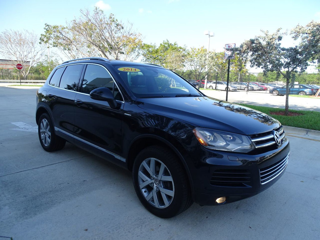 Certified Pre-Owned 2014 Volkswagen Touareg X - TDI / 10th Anniversary model / Only 1000 units manufactured.