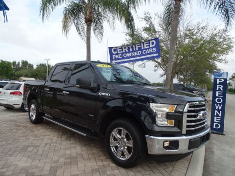 Pre-Owned 2015 Ford F-150 Supercrew XLT / with Leather Pkg./ 2.7 Ecoboost