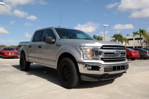 Pre-Owned 2018 Ford F-150 XLT SuperCrew / Ecotec