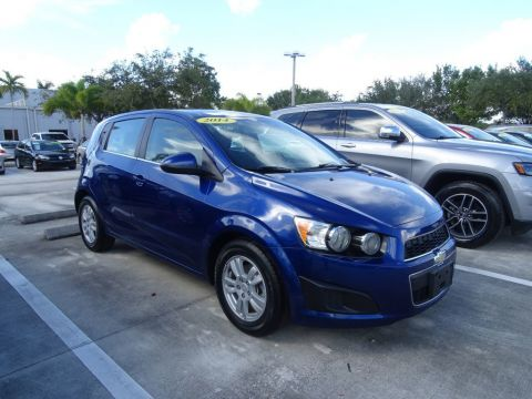 Pre-Owned 2014 Chevrolet Sonic LT with Automatic Transmission
