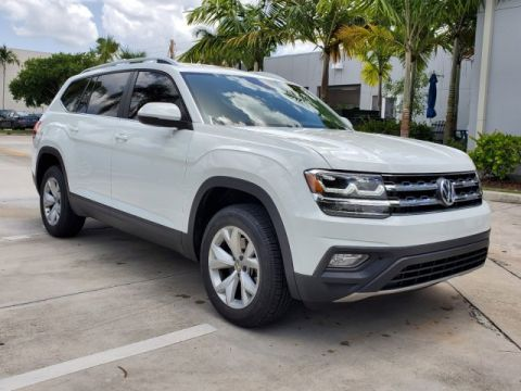 Certified Pre-Owned 2018 Volkswagen Atlas SE / V6 FWD