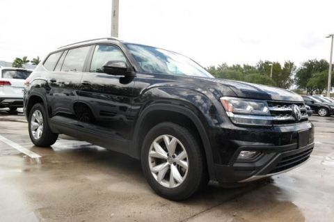Certified Pre-Owned 2018 Volkswagen Atlas 3.6L V6 SE 4MOTION