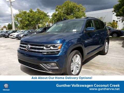 New 2020 Volkswagen Atlas 3.6L V6 SE w/Technology