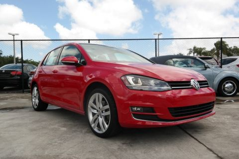 Certified Pre-Owned 2015 Volkswagen Golf TSI SEL