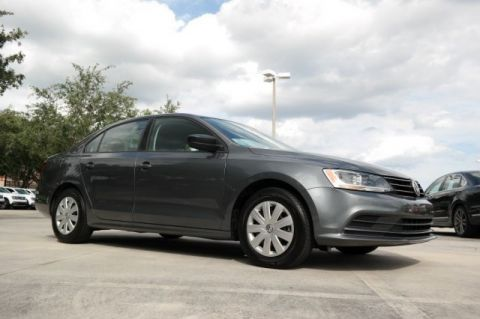 Certified Pre-Owned 2016 Volkswagen Jetta Sedan S with Automatic Transmission & Turbocharged Engine