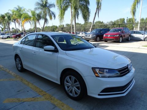Certified Pre-Owned 2017 Volkswagen Jetta 1.4T S with Automatic Transmission