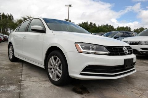 Certified Pre-Owned 2018 Volkswagen Jetta S / 1.4T with Automatic Transmission
