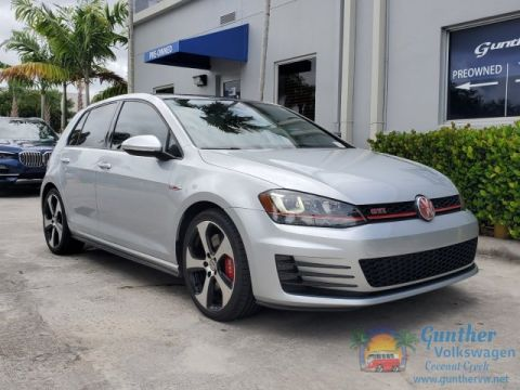 Certified Pre-Owned 2016 Volkswagen GTI Autobahn w/Performance Pkg & Lighting Package