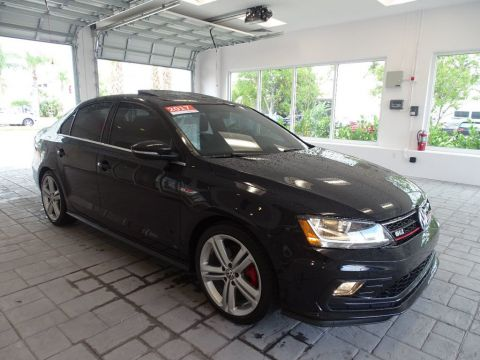 Certified Pre-Owned 2017 Volkswagen GLI with DSG AutomaticTransmission, Sunroof & Navigation /