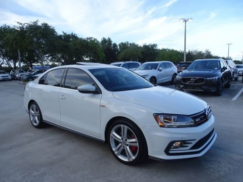 Certified Pre-Owned 2017 Volkswagen GLI with 6 Speed DSG AutomaticTransmission, Sunroof & Navigation /