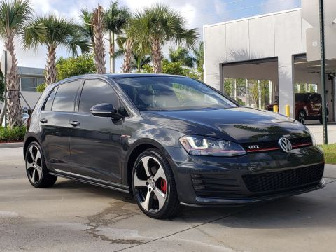 Certified Pre-Owned 2016 Volkswagen GTI SE with Lighting Package