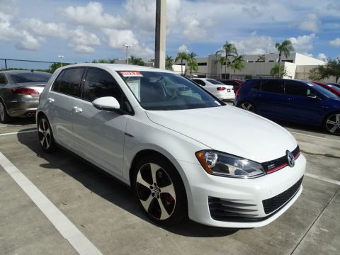 Certified Pre-Owned 2017 Volkswagen GTI S / DSG Automatic Transmission / 4Door /