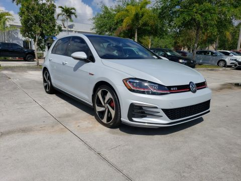 Certified Pre-Owned 2018 Volkswagen GTI SE w/ 6 Speed Manual Transmission