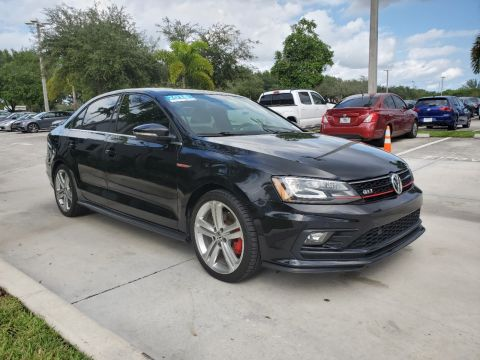 Certified Pre-Owned 2016 Volkswagen GLI SEL w/ 6 speed Manual Transmission