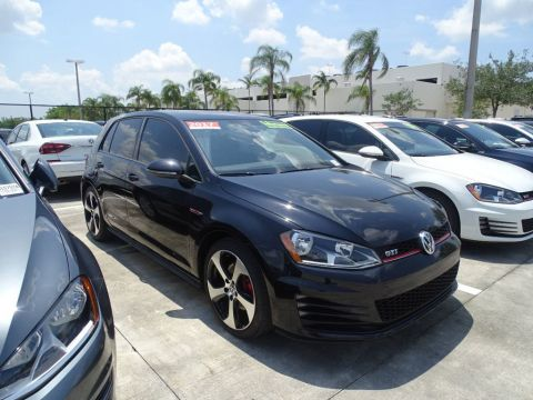 Certified Pre-Owned 2017 Volkswagen GTI S with 6 Speed Manual Transmission / 4 Door /