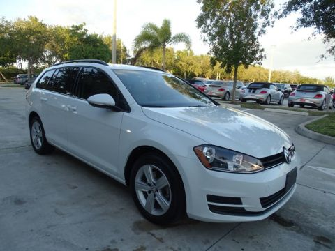 Certified Pre-Owned 2015 Volkswagen Golf SportWagen TDI / S with DSG Automatic Transmission /