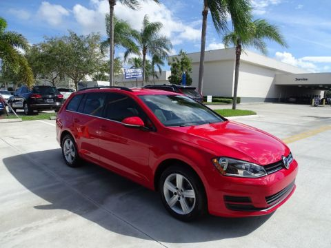 Pre-Owned 2015 Volkswagen Golf SportWagen TDI / S with DSG Automatic Transmission /