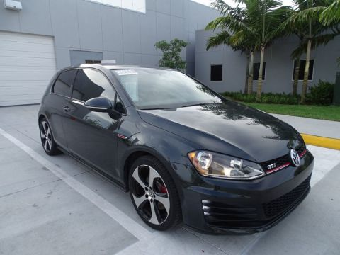 Certified Pre-Owned 2015 Volkswagen GTI S / 2dr Hatchback with 6 Speed Manual Transmission /