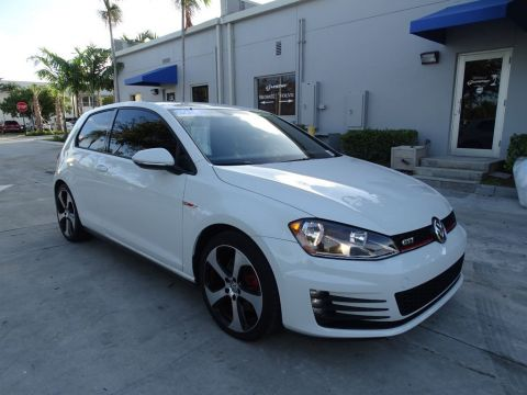 Certified Pre-Owned 2016 Volkswagen GTI S with 6 Speed Manual Transmission / 2 Doors /