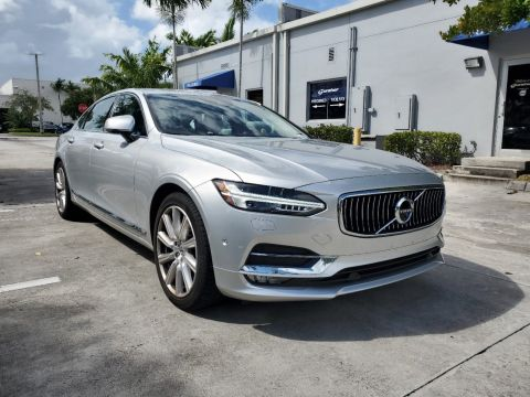 Pre-Owned 2018 Volvo S90 T6 AWD Inscription w/B&W Sound / Convenience