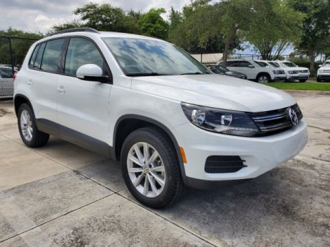 Certified Pre-Owned 2017 VW Tiguan Limited w/ Premium Pkg. & Wheel Pkg.