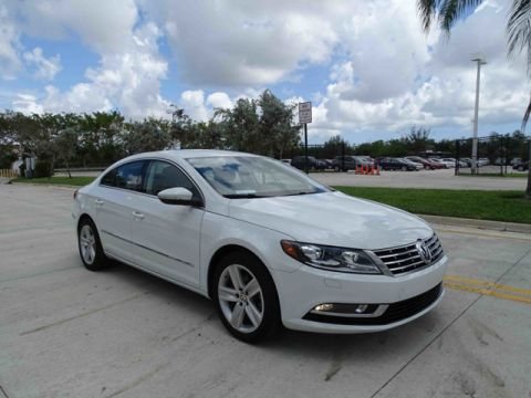 Certified Pre-Owned 2016 Volkswagen CC SPORT with Navigation