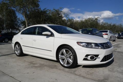 Certified Pre-Owned 2014 Volkswagen CC R-Line with Navigation & Camera