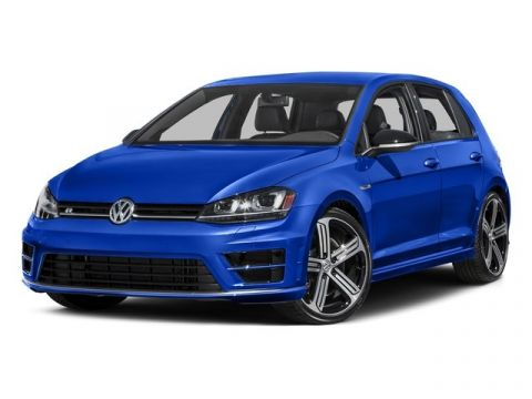 Certified Pre-Owned 2016 Volkswagen Golf R with DCC & Navigation / Manual Trans.
